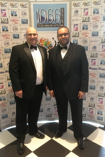 Glenn Blackman and Sean Morrow of FundInvoice At The 1066 Business Awards 2016