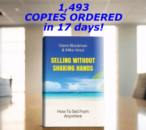 1,493 copies of Selling Without Shaking Hands have been ordered in just 17 days!