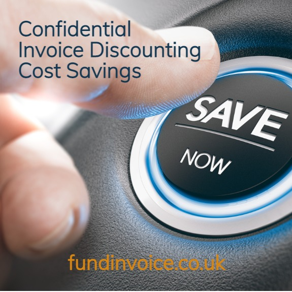 A 22% cost saving found for a confidential invoice discounting client.
