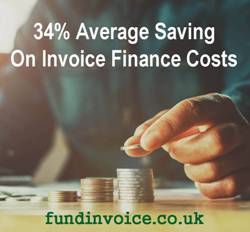 Details of businesses that can qualify for invoice finance acceptance criteria