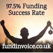 We have found business funding for 97.5% of companies.