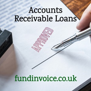 How to get accounts receivable loans.