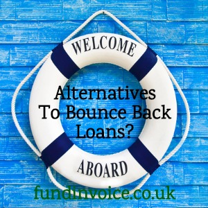 Alternatives to taking out a bounce back loan.