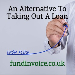Invoice funding an alternative to taking out a CBILS loan.