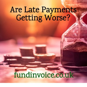 Is the culture of late payments in the UK getting worse?