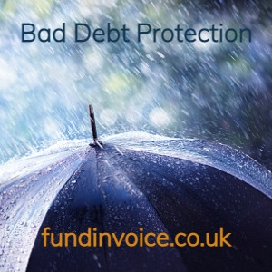 Bad Debt Protection to protect against customer insolvency