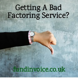 Bad factoring service? Alternative providers can help.