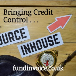 Bringing your credit control back in-house after outsourcing.