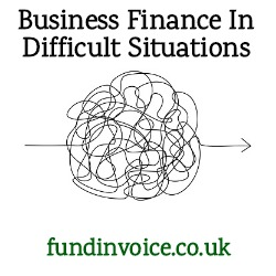 Business finance in difficult situations - when declined by lenders
