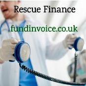 Factoring as business rescue finance to help avoid insolvency.
