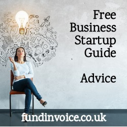 Sources of further advice for new startup businesses.