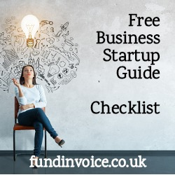 A business startup checklist of things to consider when starting a new business.