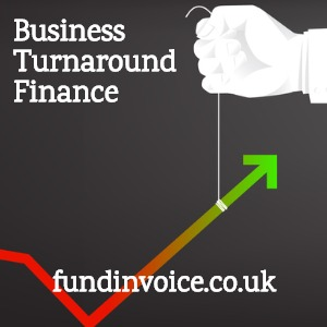 Business turnaround finance and company rescue finance.