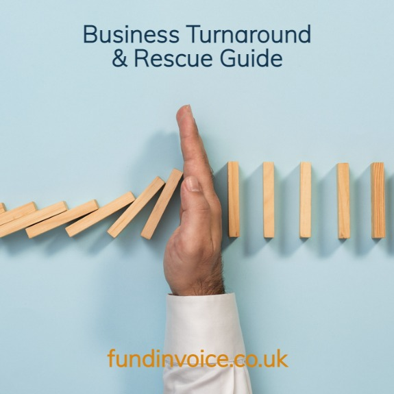 Guide to business turnaround and rescue.