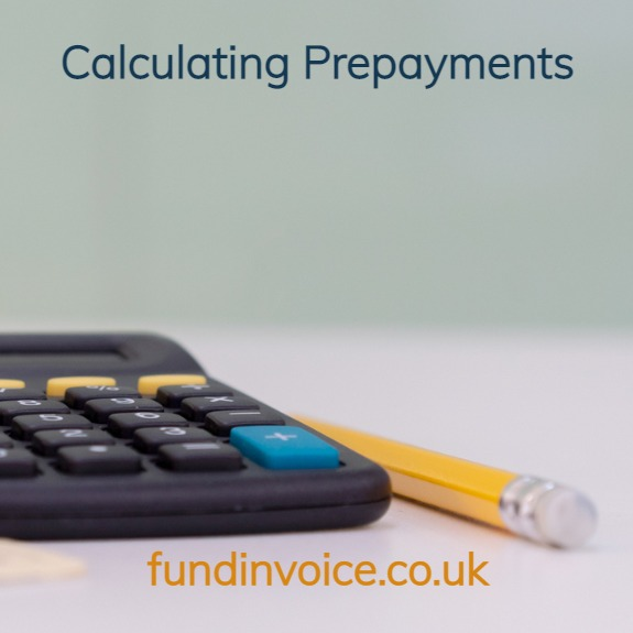 How to calculate your prepayments and availability.
