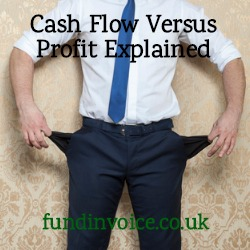 We explain why profitable businesses can sometimes have cash flow problems, and what to do.