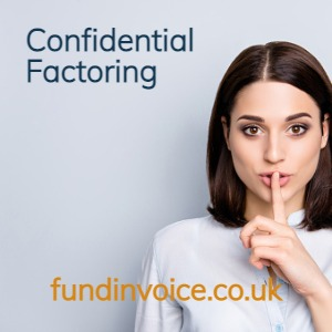 Confidential factoring credit control and funding.