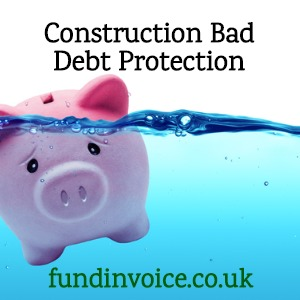 Construction sector companies need to protect against customer insolvencies and cash flow issues as insolvencies rise.