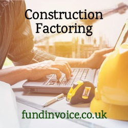 Construction factoring unlocks cash from unpaid invoices and applications for payment