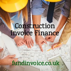 Improve cash flow with construction invoice finance against invoices or applications for payment.