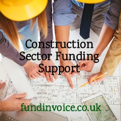 Whilst figures suggest the construction sector outlook is improving, funding remains available.