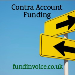 Funding against contra trading accounts.