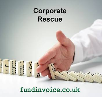 Corporate rescue as an alternative to insolvency proceedings.