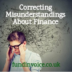 Correcting misunderstandings about how invoice finance commissions work.