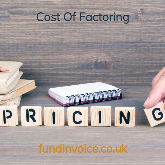 The cost of factoring explained with examples.