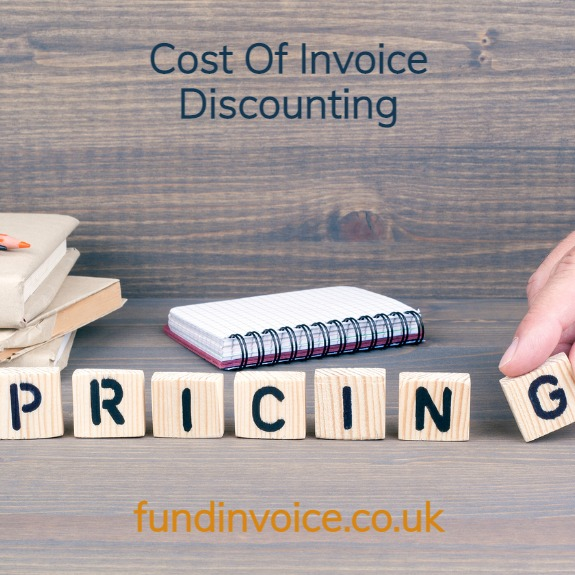 The cost of invoice discounting explained with examples.