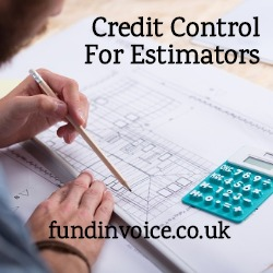 Credit control for a construction estimating company.