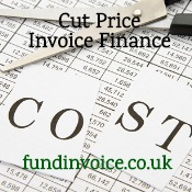 Ways of finding cut price invoice finance deals.