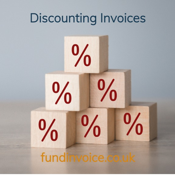 Discounting invoices and how customer misunderstand the jargon.