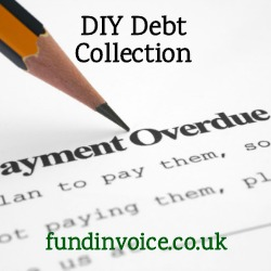DIY debt collection - how to collect and overdue debt.