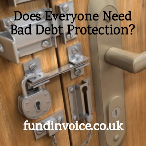 Does everyone need non recourse bad debt protection?