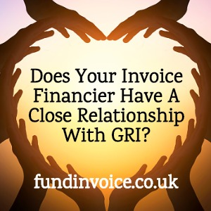 An invoice finance company with a close relationship with GRI.