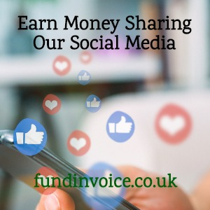 Earn commission by sharing our social media posts with your own trackable link.