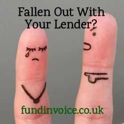 We can help if you have fallen out with your lender or bank.