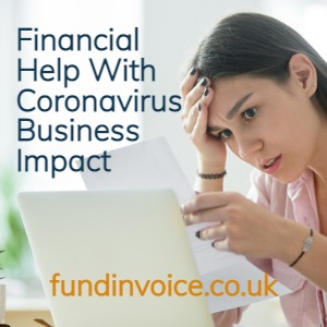 Emergency financial help if your business is impacted by coronavirus.