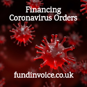 Financing Coronavirus large orders for preparations and supplies.