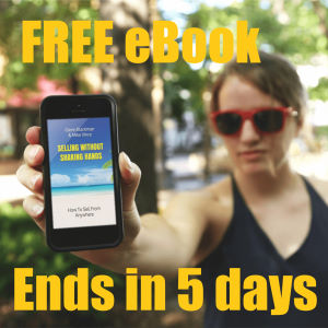 Get Selling Without Shaking Hands ebook free limited time promo.