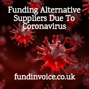 Funding to help you use new suppliers if coronavirus has affected your supply chain.