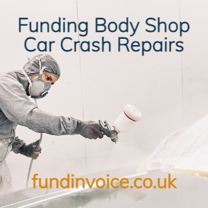Funding for car crash repairers of all business sizes.