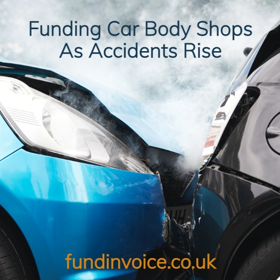 How we are funding car body shops as accidents are set to increase following lockdown.