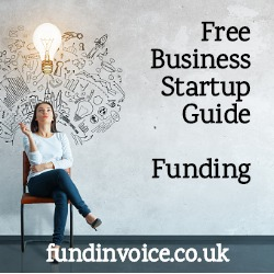 Free guide to funding a business startup.