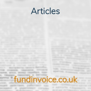 Articles about invoice finance, factoring and business funding.