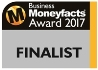 FundInvoice Business Moneyfacts Awards Finalists 2017 - Best Asset Based Finance Brokers
