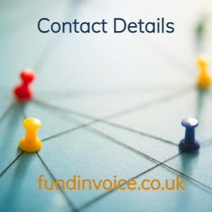 Contact details for FundInvoice.