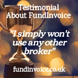 Glowing testimonial about FundInvoice -