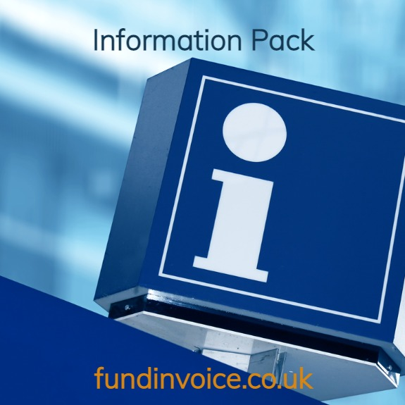 Info pack brochure from FundInvoice